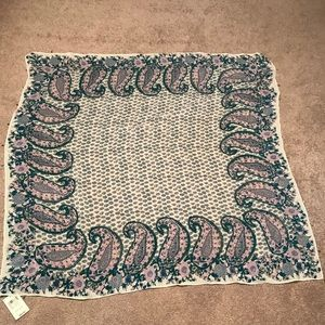 Lucky Brand paisley scarf